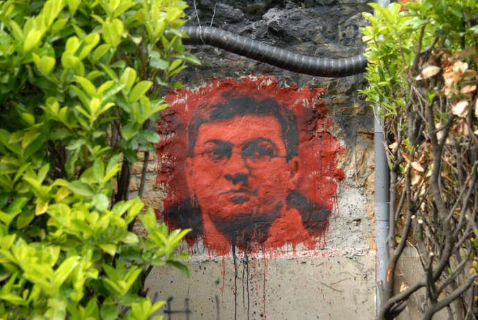 Portrait de Julien Coupat, membre présumé du Comité invisible.