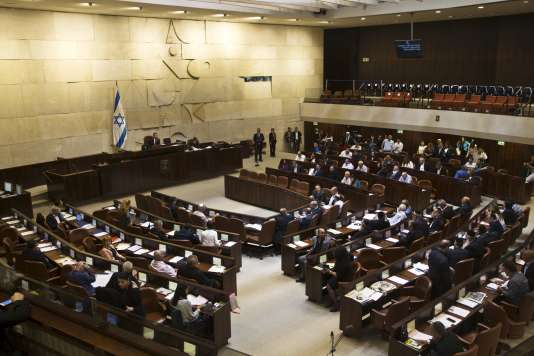 Une session plénière à la Knesset, le 13 mai 2015.