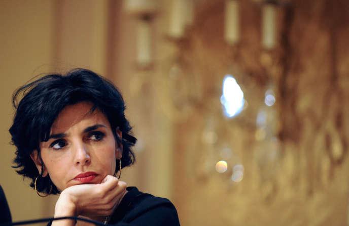 Rachida Dati, en janvier 2009.