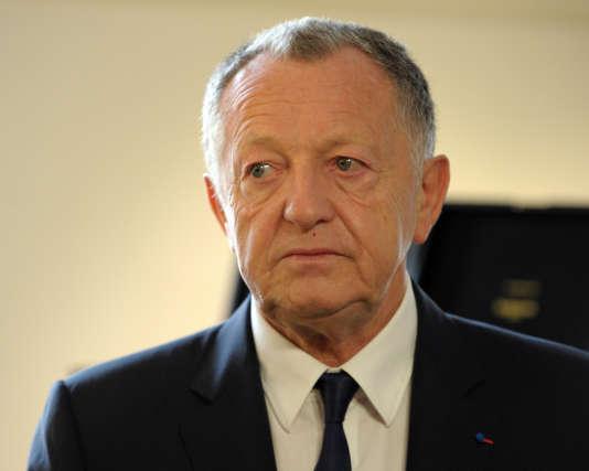 Le fondateur de Cégid et emblématique patron de l'Olympique lyonnais, Jean-Michel Aulas, en 2014.