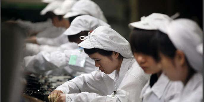 A Shenzhen, le salaire minimum a dû être augmenté de 13,6% en février pour inciter les ouvriers migrants à revenir.