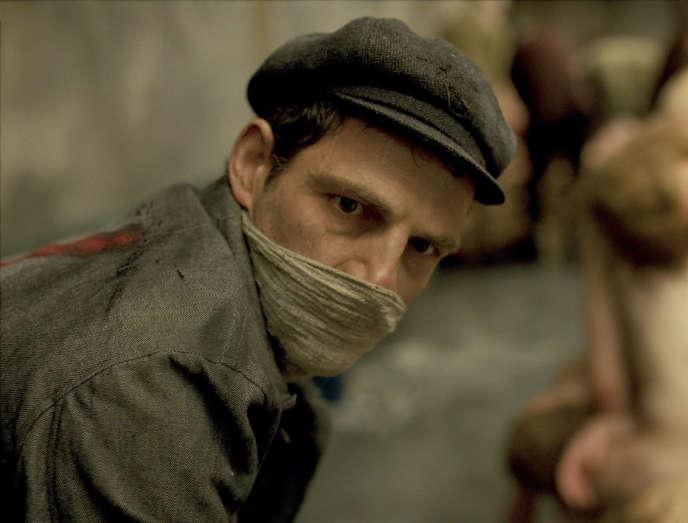 Geza Röhrig dans le film hongrois de Laszlo Nemes,