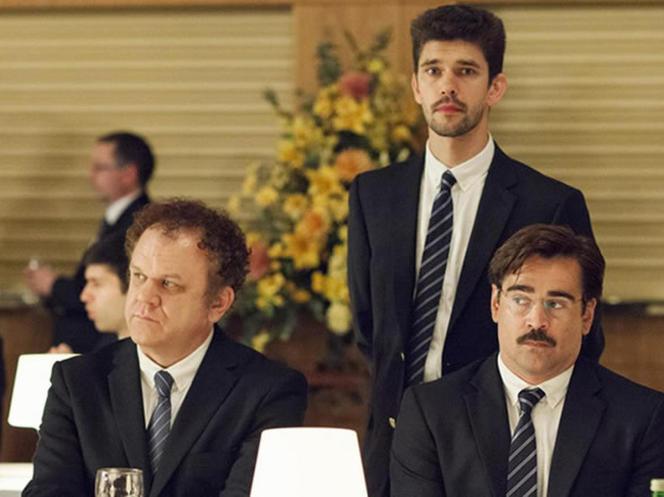 John C. Reilly, Ben Whishaw et Colin Farrell dans le film grec, britannique, néerlandais, irlandais et français de Yorgos Lanthimos,
