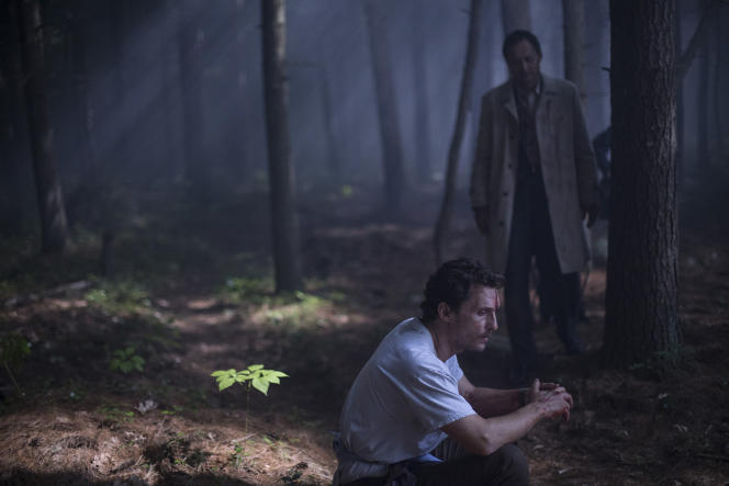 Matthew McConaughey et Ken Watanabe dans le film américain et japonais de Gus Van Sant,