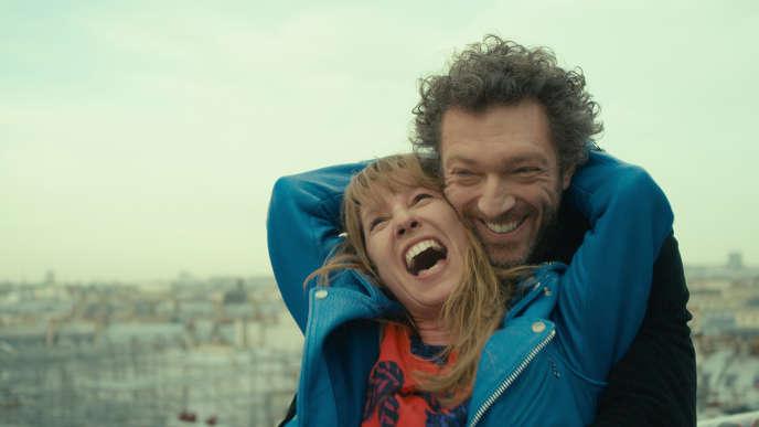 Emmanuelle Bercot et Vincent Cassel dans le film français de Maïwenn,