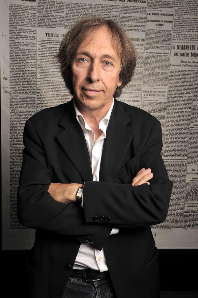 L'écrivain Pascal Bruckner le 3 octobre 2009 à Paris.