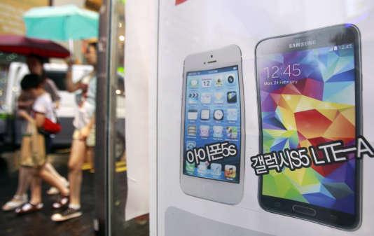 Le bras de fer entre l'américain Apple et le sud-coréen Samsung est une bataille d'image autant que de fond.
