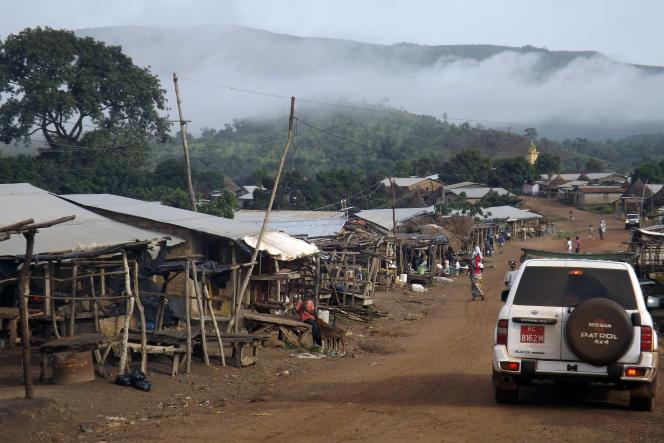 La chaîne du mont Simandou qui renferme la plus grande réserve de fer inexploitée au monde.