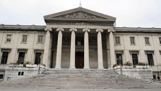 Palais de justice de Marseille.