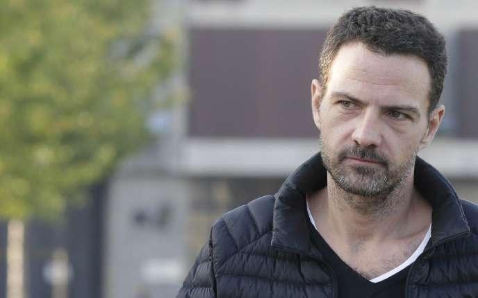 Jérôme Kerviel à sa sortie de prison, le 8 septembre 2014.