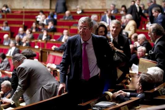 Le député Les Républicains Patrick Balkany à l'Assemblée nationale le 19 mai.