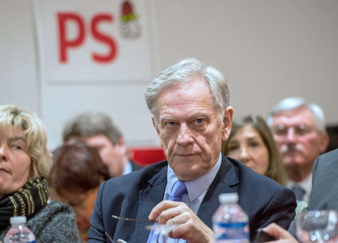 Pierre de Saintignon, le 9 mars 2015 à Lille.