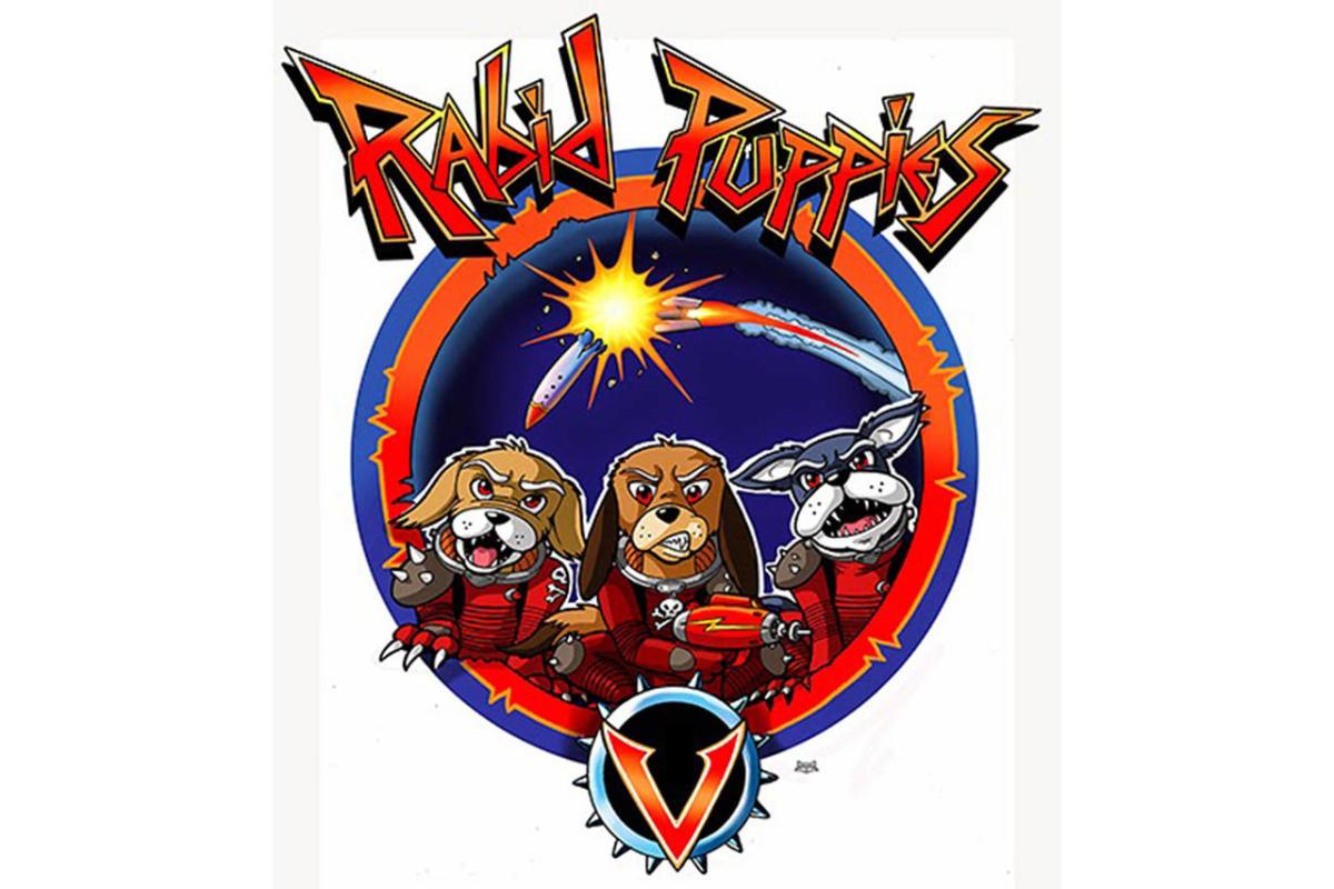 Le logo des Rabid Puppies.