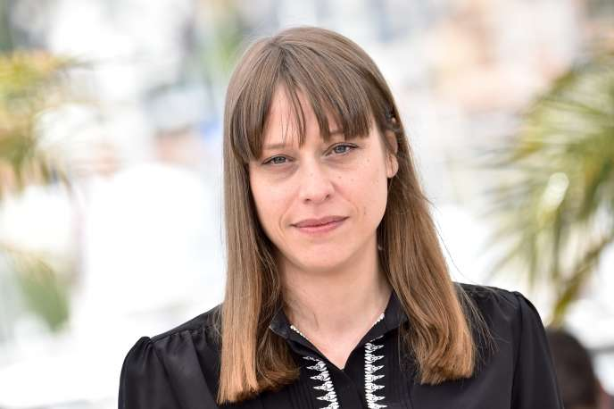 La réalisatrice Alice Winocour lors de la séance de photos pour son film