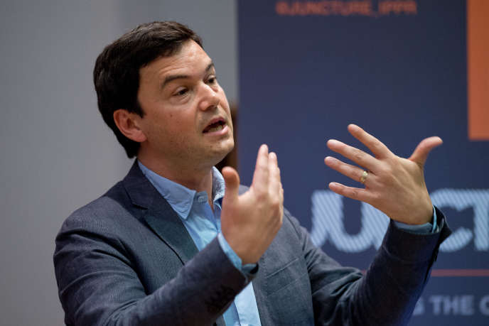 Thomas Piketty, le 30 avril 2014, à Londres.