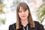 """La réalisatrice Alice Winocour lors de la séance de photos pour son film """"Maryland"""" au 68e Festival de Cannes, le 16 mai 2015."""