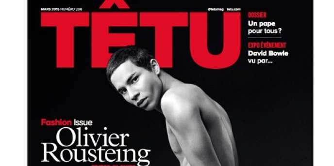 Le numéro de mars du magazine « Têtu ».