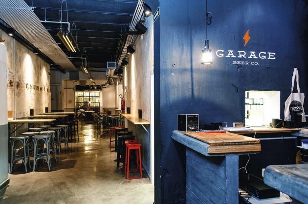 Le Garage Beer Co., un bar dans une usine.