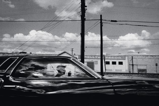 Une zone d'entrepôts, à Fresno (1998).