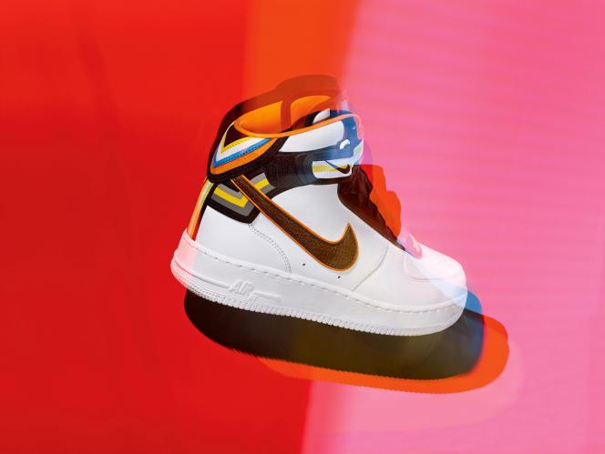 … ou l'Air Force One de Nike remise au goût par Riccardo Tisci, les chaussures de sport