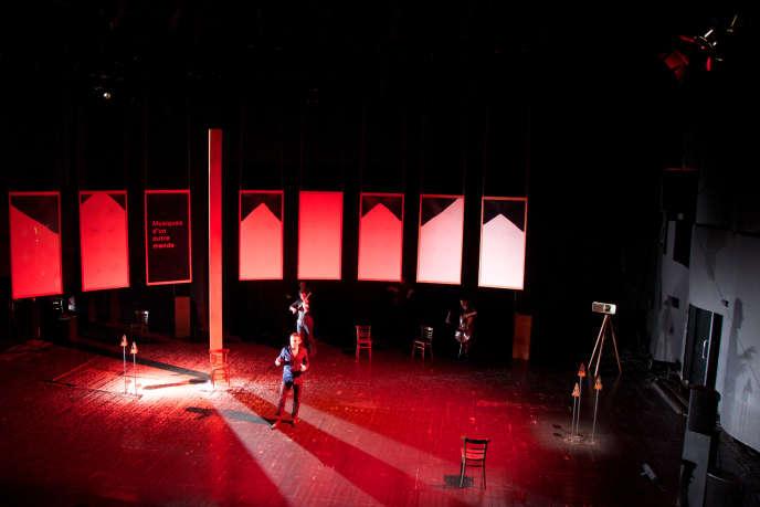 Image extraite du spectacle «Il se trouve que les oreilles n'ont pas de paupières», de Benjamin Dupé, programmé à Montreuil du 18 au 20 juin.