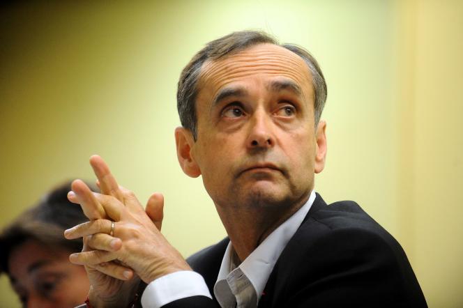 Robert Ménard lors d'une conférence à Toulouse, le 18 mai.