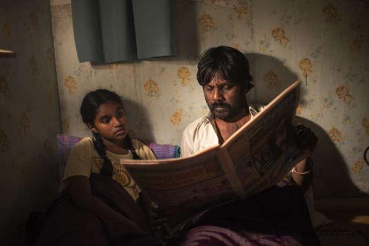 """Antonythasan Jesuthasan dans le film français de Jacques Audiard, """"Dheepan""""."""