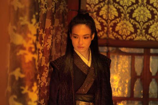 """Shu Qi dans le film taïwanais de Hou Hsiao-hsien, """"The Assassin"""" (""""Nie yinniang"""")."""