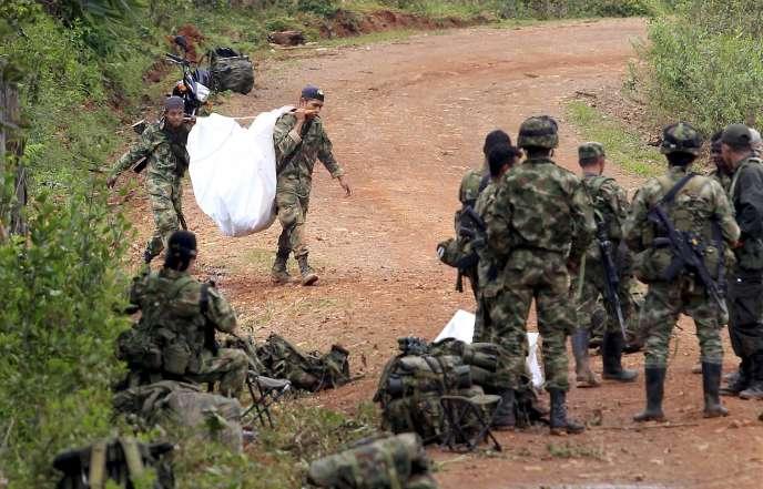 En avril dernier, une attaque des FARC contre l'armée colombienne avait conduit à la reprise des bombardements contre les rebelles.