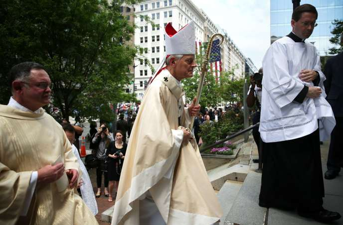 Le cardinal Wuerl, à Washington, en 2015.