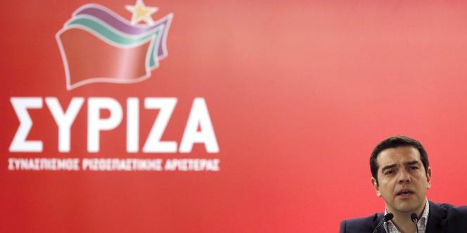 Le premier ministre grec Alexis Tsipras, ici le 23 mai à Athènes, est très impliqué dans les négociations