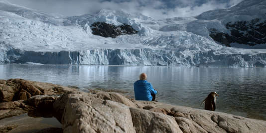 """Claude Lorius dans le film documentaire français de Luc Jacquet, """"La Glace et le ciel"""", sorti en salles mercredi 21 octobre 2015. Ce film """"est un magnifique révélateur de l'évolution des consciences sur l'impact de l'homme sur la planète""""."""