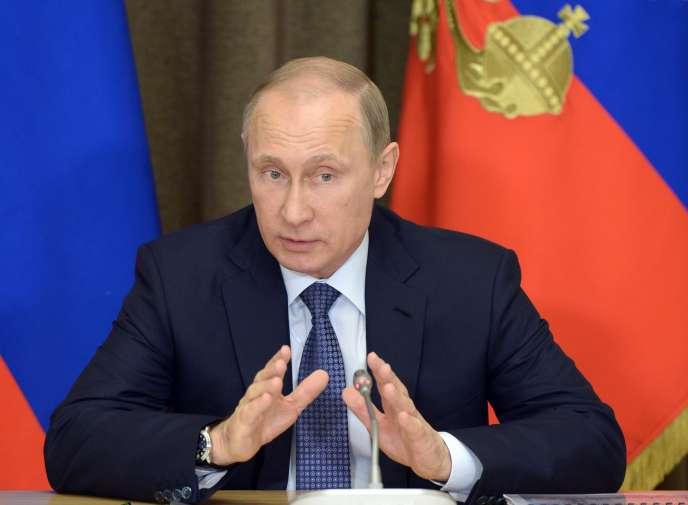 Vladimir Poutine a interdit à certaines personnalités européennes d'entrer sur le territoire russe.