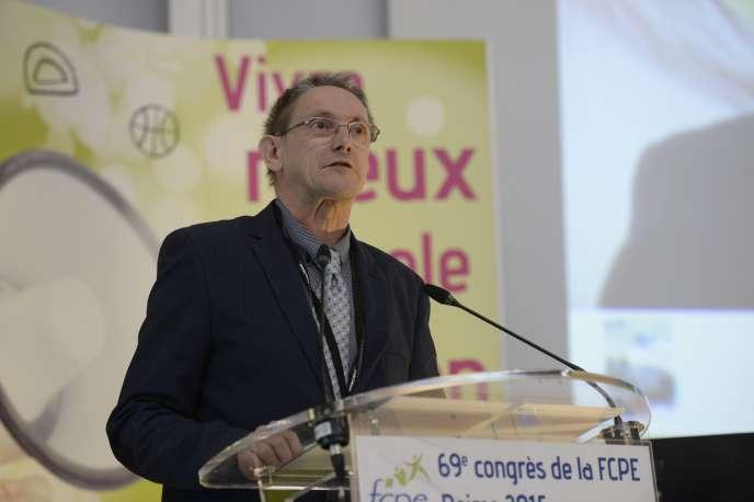 Paul Raoult, samedi 23 mai, à Reims.