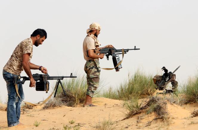 A Sabratha, en Libye, le 25 mai.