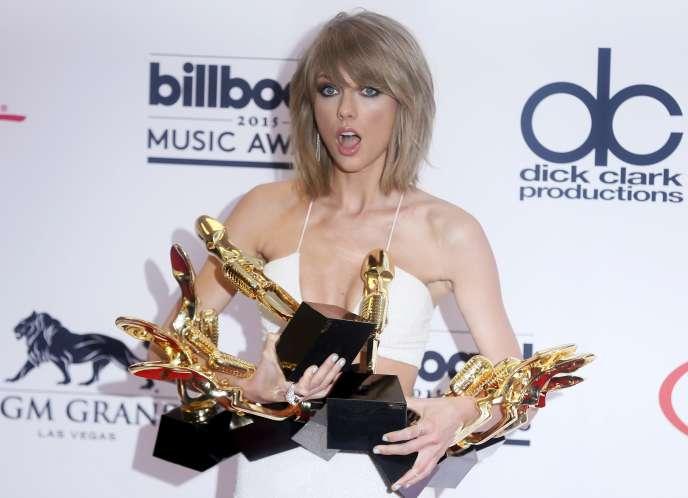 La star de la pop Taylor Swift.