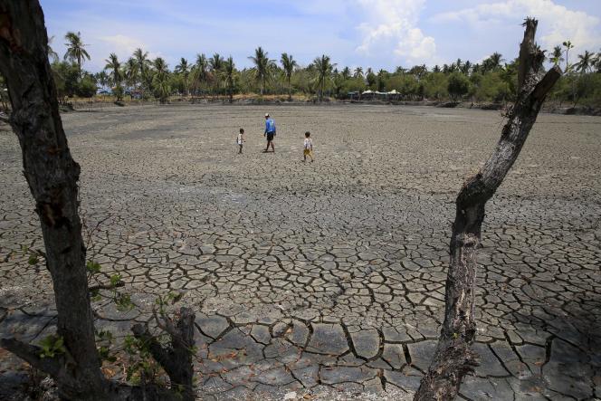 Le retour d'El Niño pourrait entraîner des épisodes de sécheresse en Asie du Sud, comme ici aux Philippines le 26 mai 2015, ou en Australie.