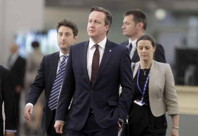 David Cameron au sommet européen du partenariat oriental à  Riga, Lettonie, le 22 mai 2015.