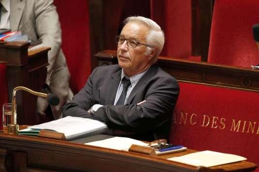 Le ministre du travail François Rebsamen, qui a porté la loi sur le dialogue social.