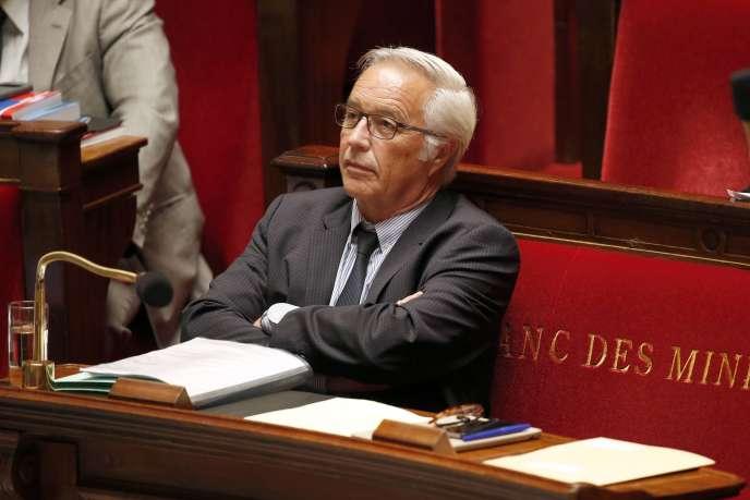Le ministre du travail, François Rebsamen, le 26 mai 2015 à l'Assemblée nationale.