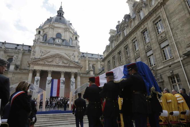 Un hommage à quatre figures de la Résistance a été rendu mardi 26 mai à la Sorbonne, à la veille de leur entrée au Panthéon.