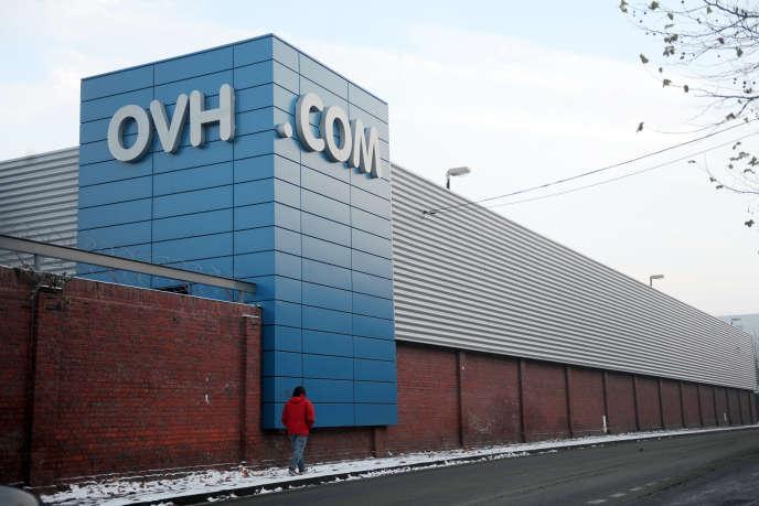 Le siège d'OVH, à Roubaix.