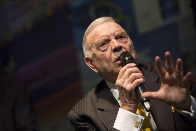 L'ancien président de la Fédération brésilienne (CBF) José Maria Marin, en 2015.