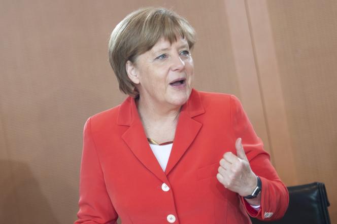 Angela Merkel, à Berlin, le 27 mai.