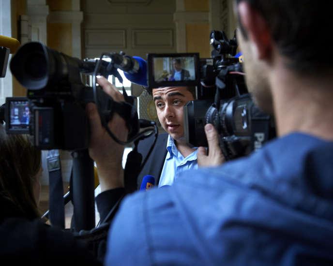 Jonathan Delay au tribunal de Rennes, le 26 mai.