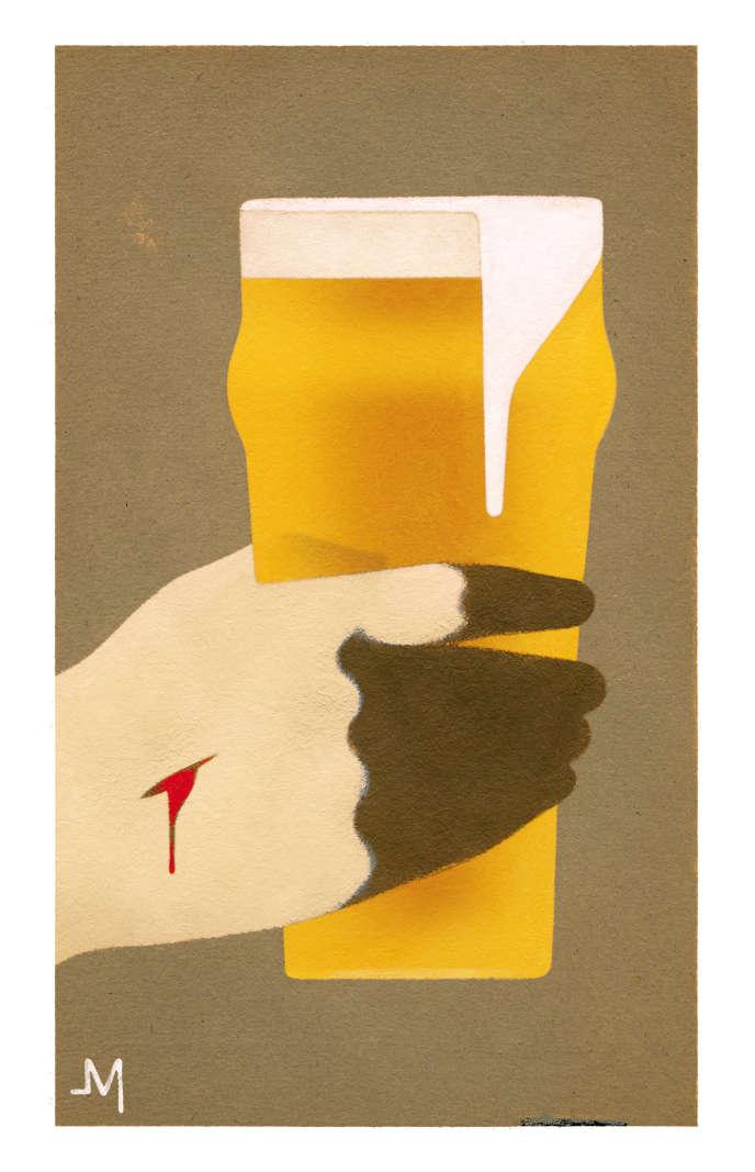 Eric Chevillard boit une bière avec le Jésus d'Afonso Cruz.