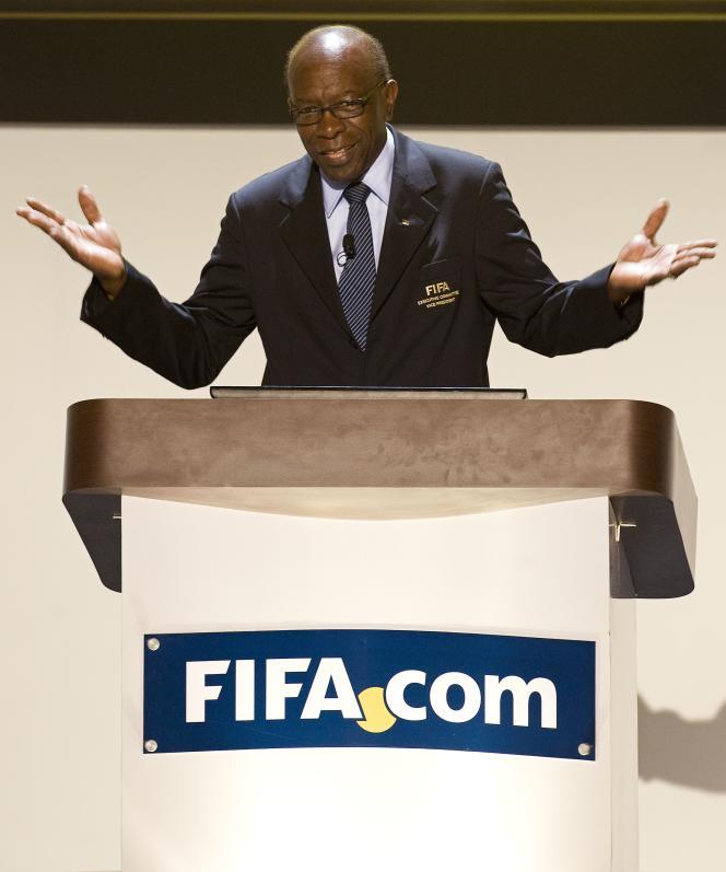 Jack Warner, le 27 avril 2011, à Carthagène des Indes, en Colombie.