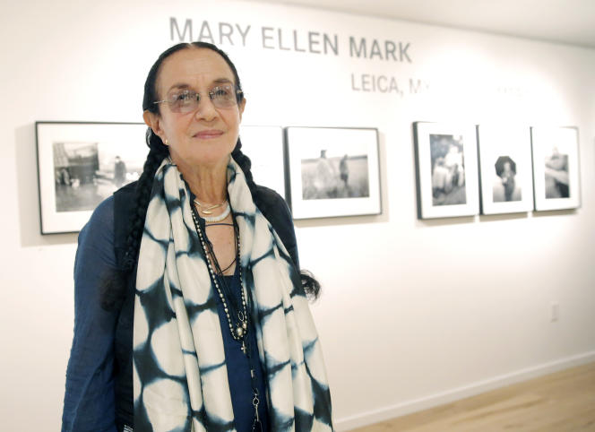 Mary Ellen Mark à Los Angeles en juin 2013.