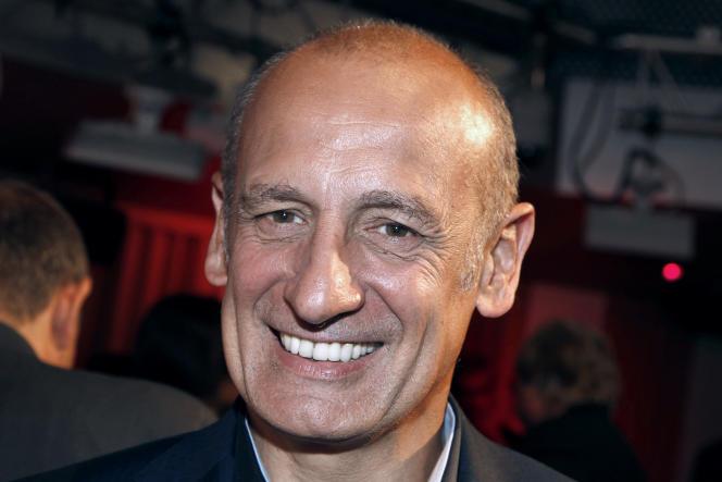 Le journaliste Jean-Michel Aphatie, le 6septembre2011, à Paris.