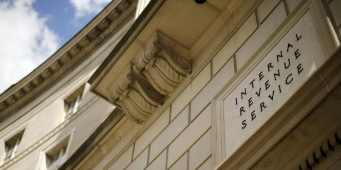 Le siège du fisc américain à Washington.